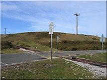 SH7783 : Tramway Crossing by John S Turner