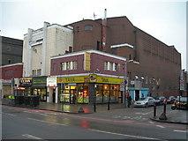 TQ3385 : Corner of Stoke Newington Road N16 and Truman Road by Danny P Robinson