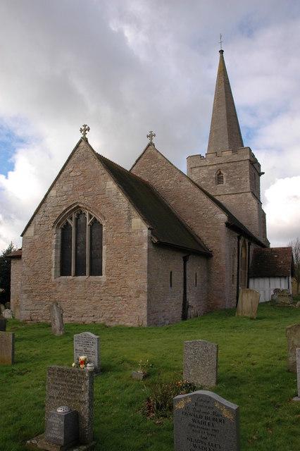 St Gregory's church, Castlemorton