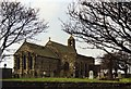 NU1241 : Parish Church of St Mary, Holy Island by Tom Pennington
