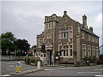 SW6439 : The Camborne Library Building by Tony Atkin