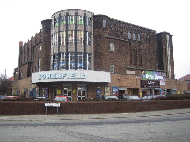 Liverpool: The former Abbey Cinema, Wavertree, L15