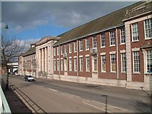 SJ8745 : Staffordshire University frontage, Stoke by Steven Birks