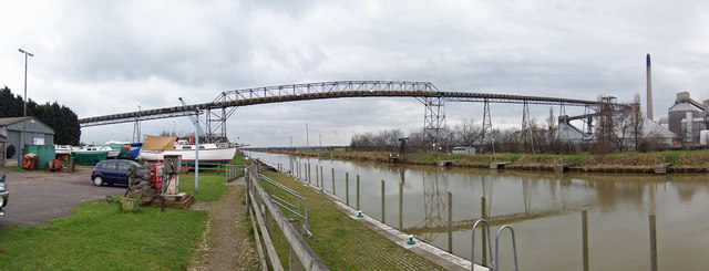 Conveyor Bridge at South Ferriby