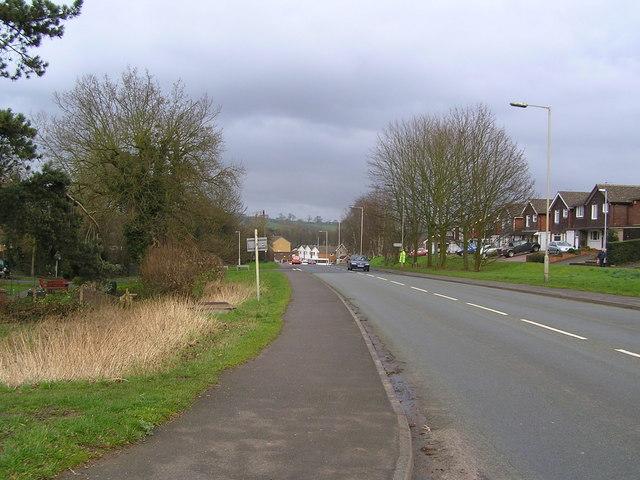 Eccleshall Road, Stone - B5026