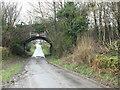 ST6148 : Old Railway Bridge by Chris Heaton