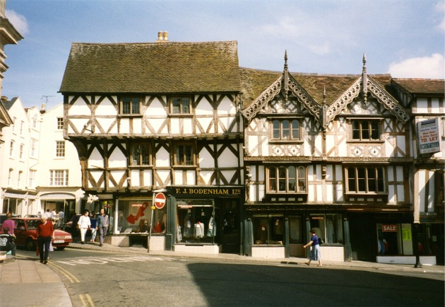 Historic buildings in Ludlow