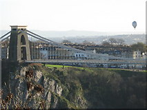 ST5673 : Clifton Suspension Bridge by George Evans