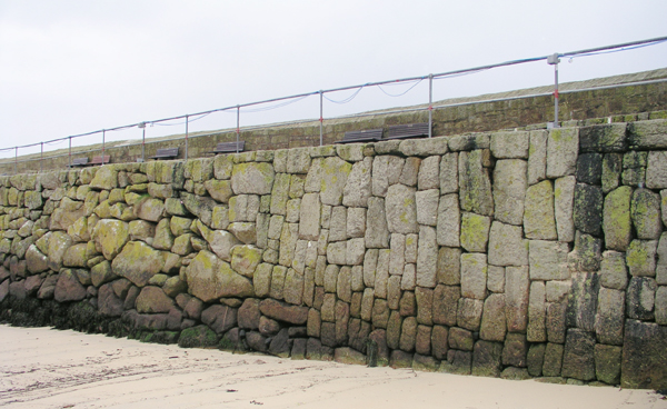 The Seawall, Mousehole Harbour