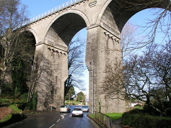 Newquay Branch Line Railway Viaduct