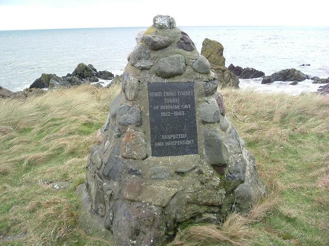 Monument to Snib Scott