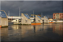 J3474 : The Lagan Weir, Belfast by Albert Bridge