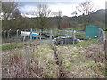 SK3462 : Overton Hall - Sewage Treatment Works by Alan Heardman