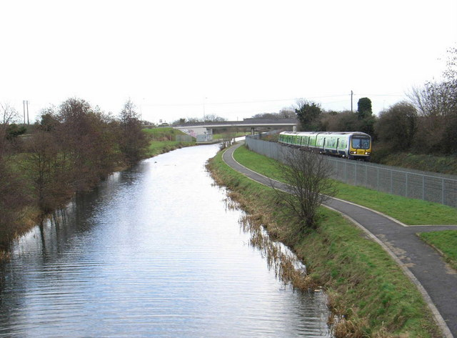 Royal Canal at Castleknock