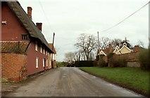 TM1677 : Part of Oakley village by Robert Edwards
