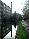 SE2833 : Canal Mills, New Wortley by Paul Glazzard