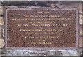 NT5334 : V-E Day commemorative stone by Walter Baxter