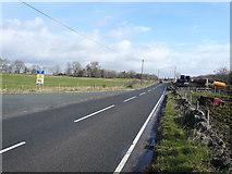 SK2855 : B5035 view towards Cromford by Alan Heardman
