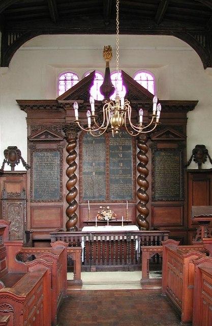 Oxhey Chapel, Herts - East end