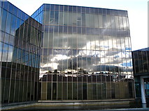 NT2672 : Reflections in the Scottish Widows Building by Lisa Jarvis