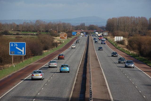 The M1 at Derrymacash