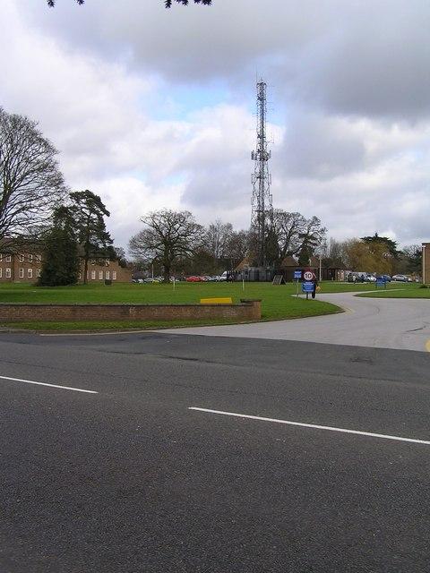 Staffordshire Police Headquarters Radio Mast