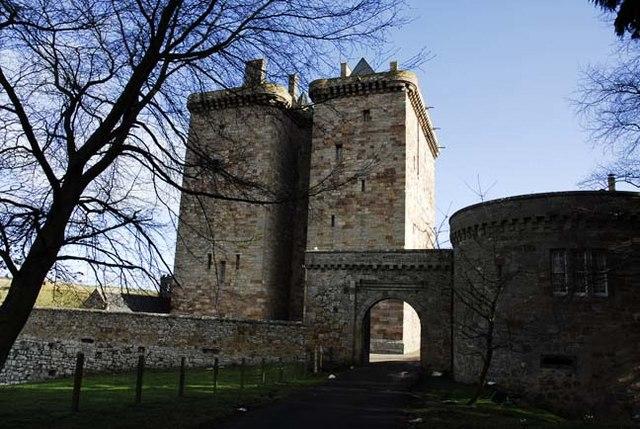 Borthwick Castle Gates