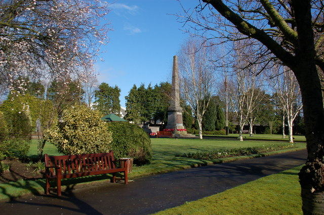 War Memorial Park, Ballymena