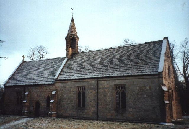Buttercrambe Church In The Frost