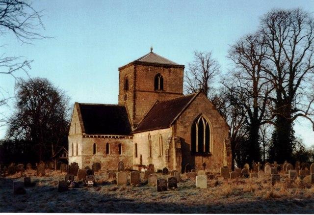 Bossall Church and Churchyard