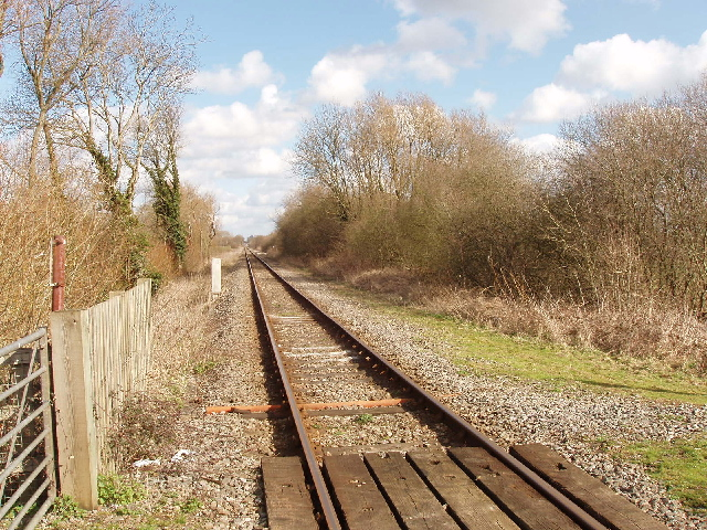Oxford to Bicester railway