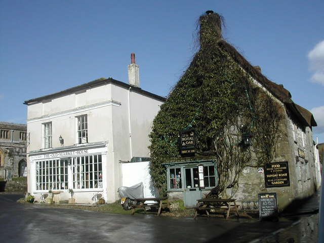 The Old Market House and The Royal Oak, Cerne Abbas
