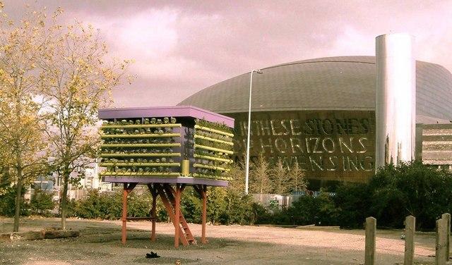 """Millennium Centre with """"Garden"""""""