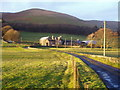 NN9800 : Castleton Farm by Brendan Hamill