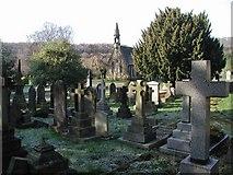 SE1039 : Bingley Cemetery by Paul Glazzard