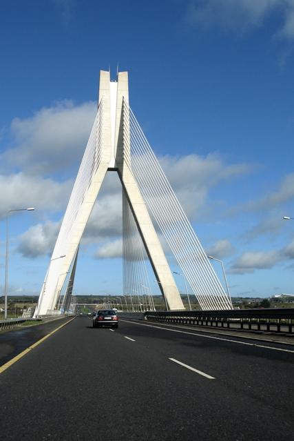 Boyne River Bridge, M1 motorway, Co.Meath/Louth