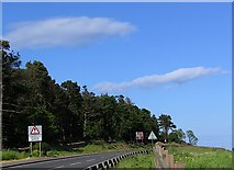 NT5776 : Road Signs at Pencraig Hill by Alastair Seagroatt