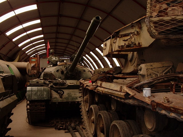 Inside Cobbaton Combat Collection