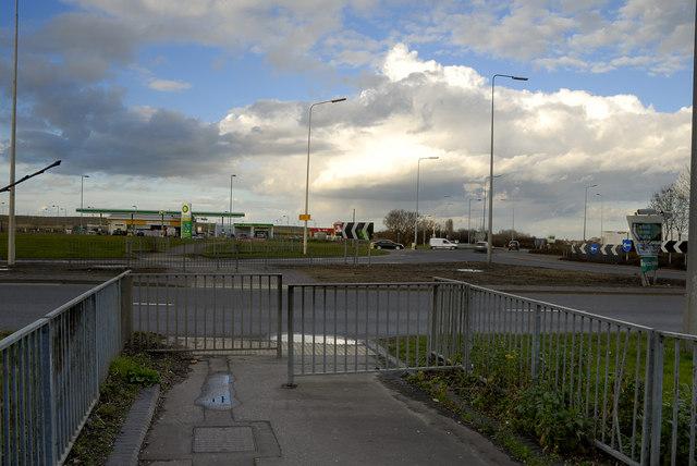 Eye roundabout, Peterborough