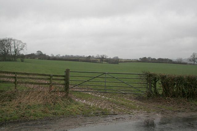 Farmland near Withington