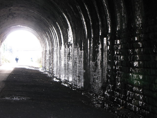Tunnel under Halifax Road Liversedge. by Andrew Woodhall