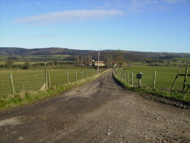 Driveway to farm known as Foxfoot