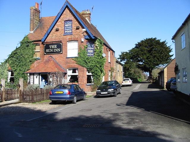 The Sun Inn on Sun Lane