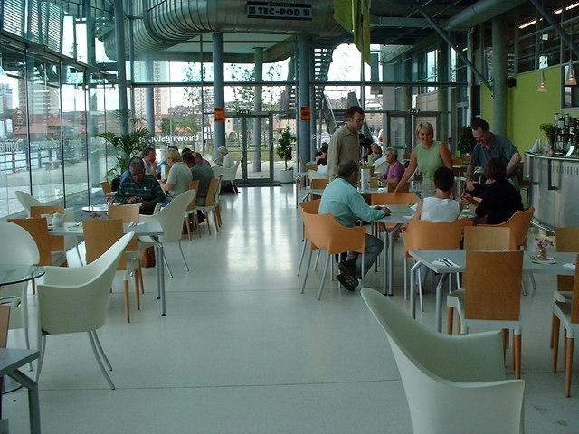 Restaurant at the National Glass Centre, Sunderland