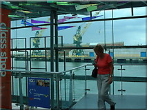 NZ4057 : Entrance hall of the National Glass Centre, Sunderland by Ken Walton