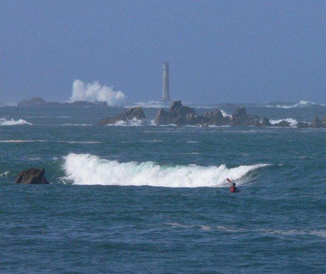 Bishop Rock from Periglis Bay
