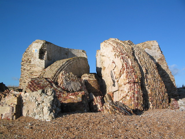 Remains of Martello Tower 19