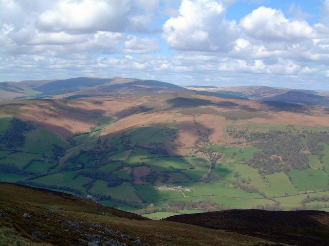 Looking NNE from the Sugar Loaf