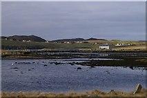 HU3666 : Burravoe, Brae by Mike Pennington