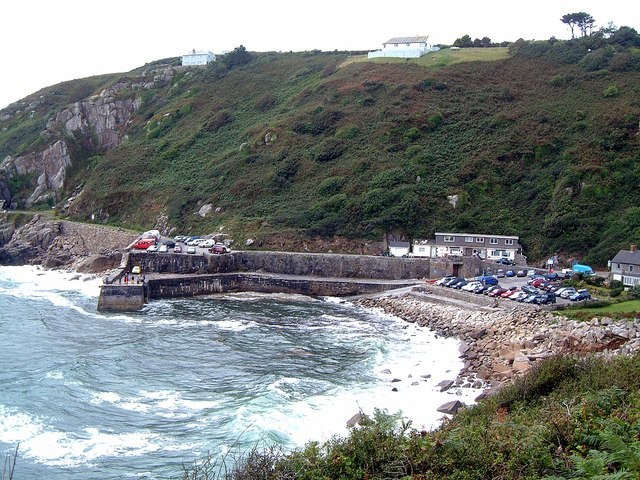 The little harbour at Lamorna